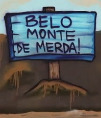 Urban Grafitti: Belo Monte is shit.