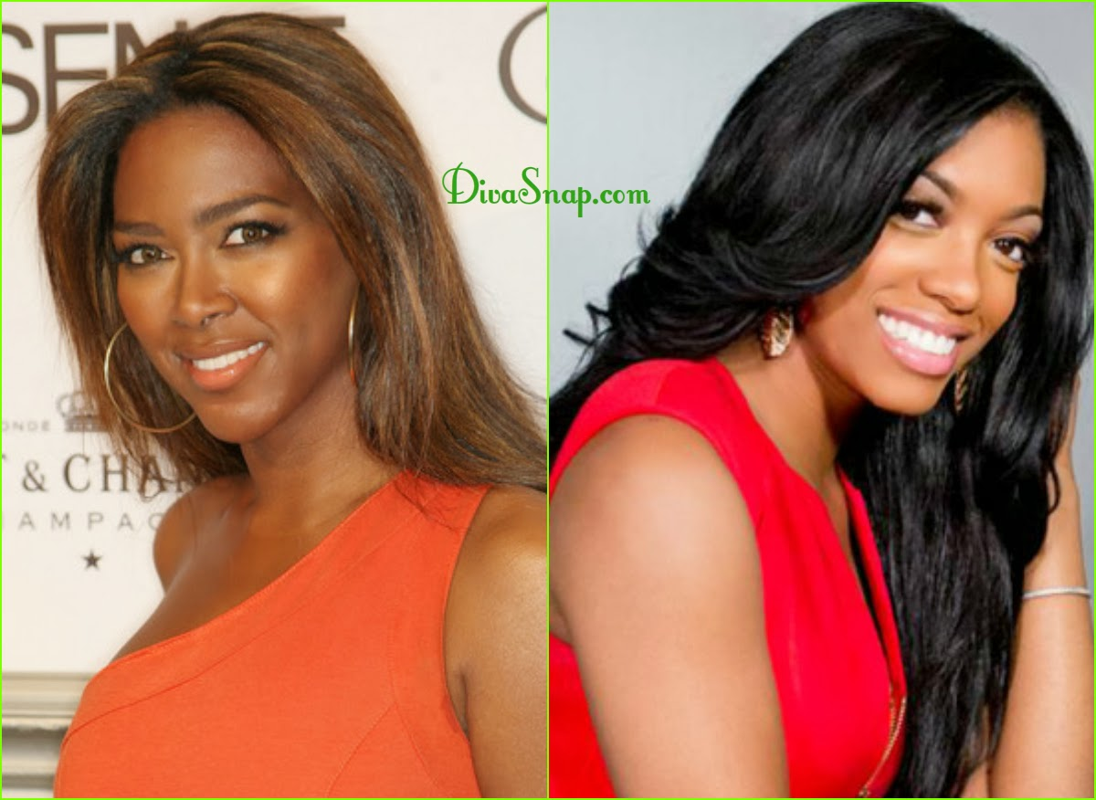 KENYA MOORE HAS SURGERY TO GET PREGNANT & PORSHA WILLIAMS SNAP - DivaSnap.com