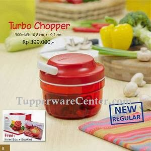 Turbo Chopper - Tupperware Bogor - Katalog Promo September 2013 - Order PIN 268921BF -WA 082123751788