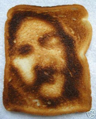 Afbeeldingsresultaat voor toasted bread jesus
