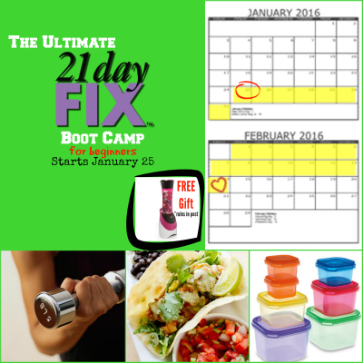 Are you ready to give the 21 Day Fix a try but are feeling overwhelmed? Join us this month for the Ultimate 21 Day Fix Boot Camp for Beginners. We'll take you step-by-step through the workouts, meal planning and preparation and we'll have a lot of fun doing it!