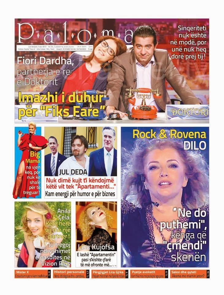 """Revista """"PALOMA"""" - 5 Tetor 2013"""