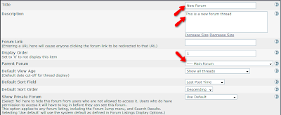 Tutorial How to Create Forums On vBulletin
