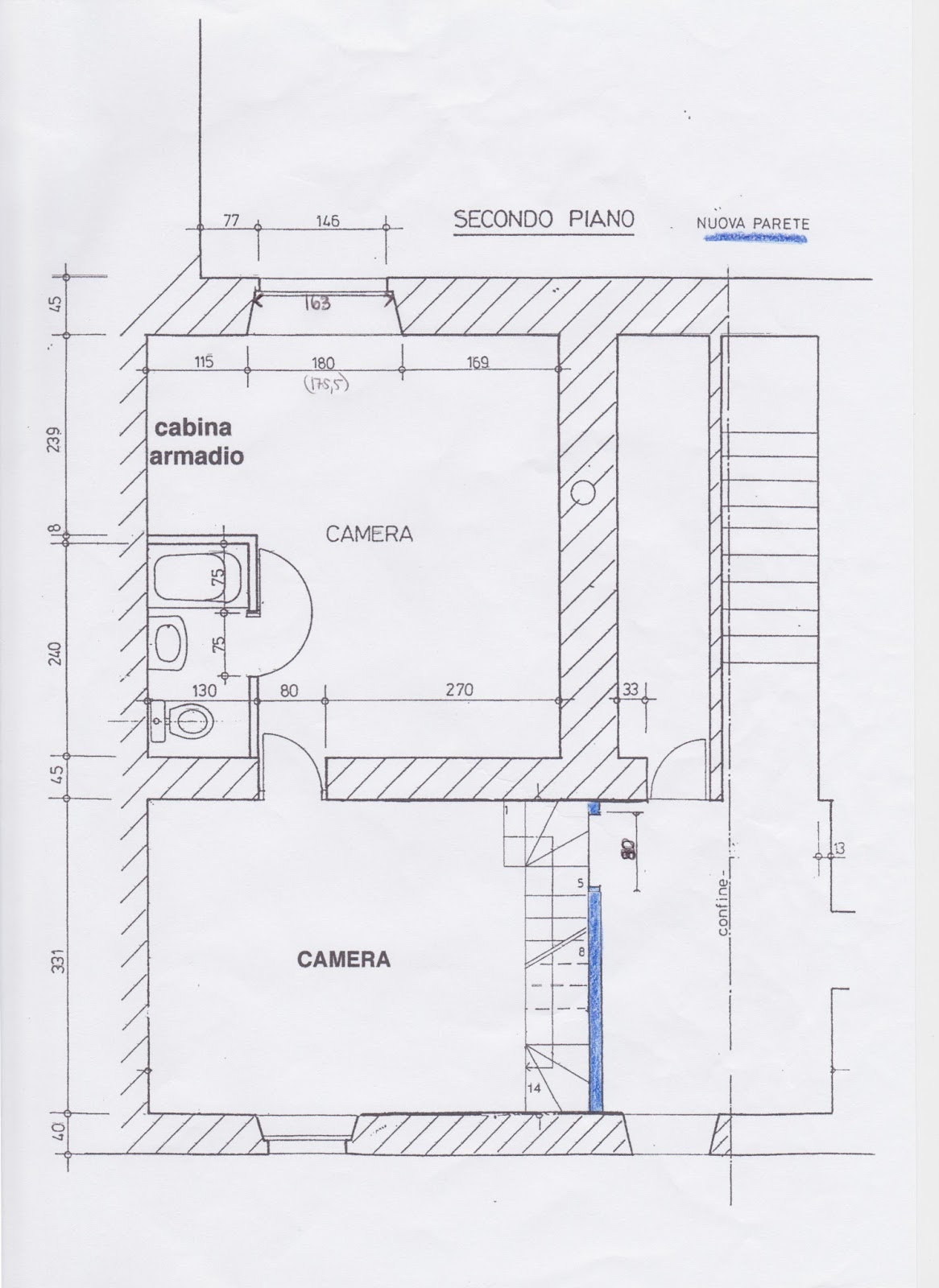 Casa tremona piani della casa for Piani casa hacienda