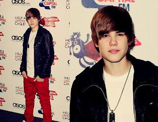 Justin red carpet