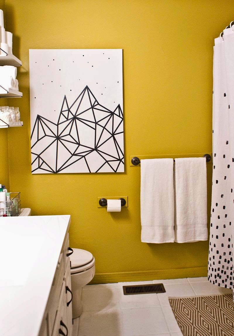 Ideas para decorar con cinta washi cuadros - Decorar pared con cuadros ...