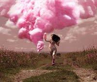 ♥ aqui o ar tem cheiro de nuvens fofinhas...