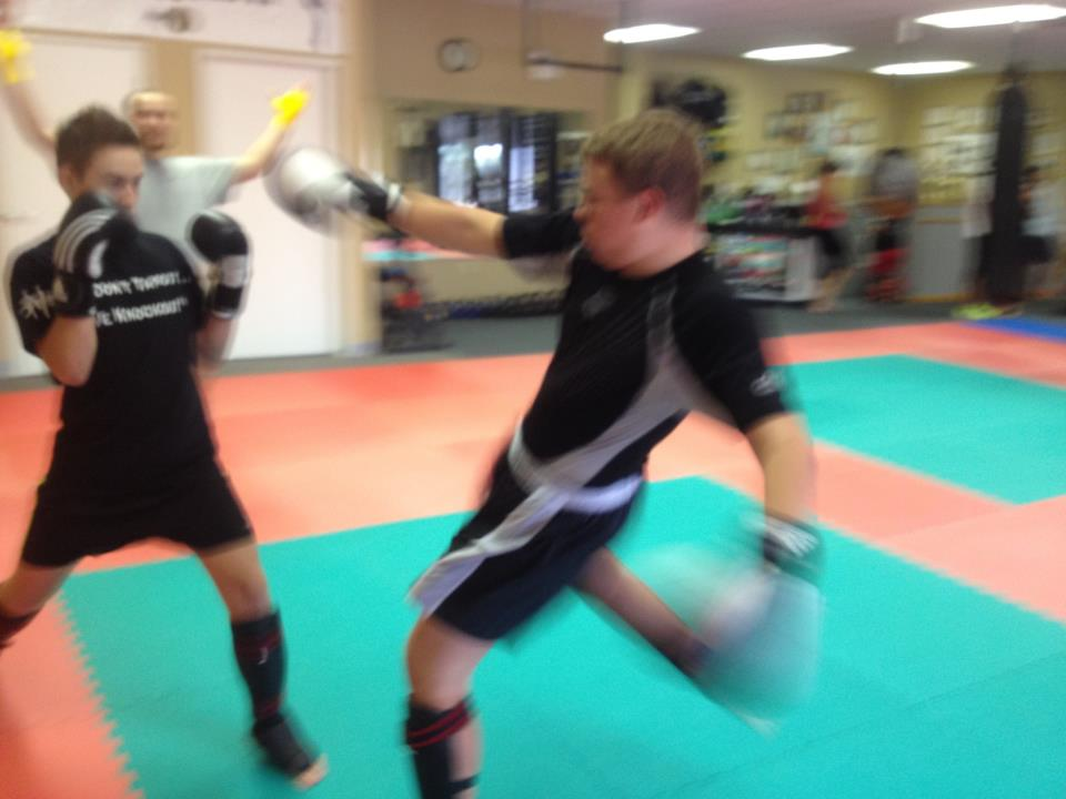 muay thai class and fighting master mehrdad