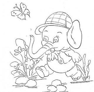 elefante com bone