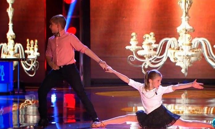 María y Daniel, tango de Roxanne: Final Individual Pequeños Gigantes