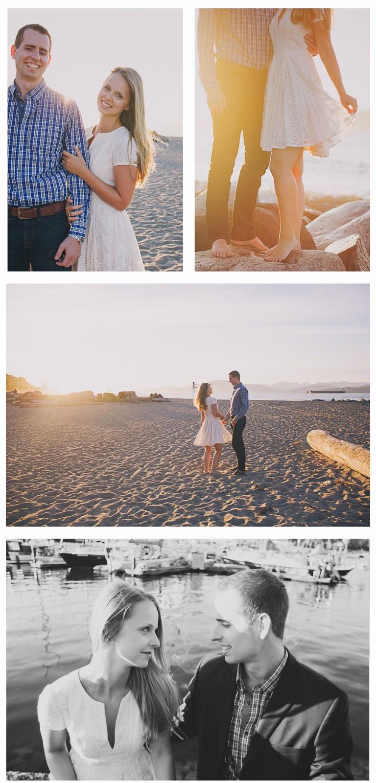 Vancouver engagement photographer jericho beach alternative