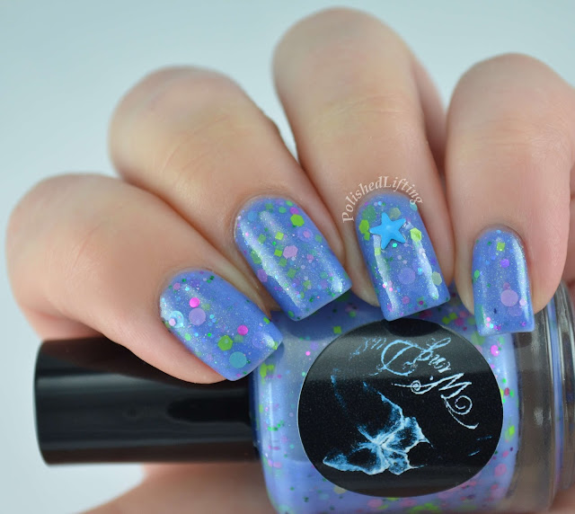WingDust Imagine Me n' You Firecracker Lacquer studs