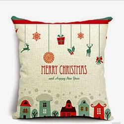 Cotton Linen Throw Pillow Case Cushion Cover Home