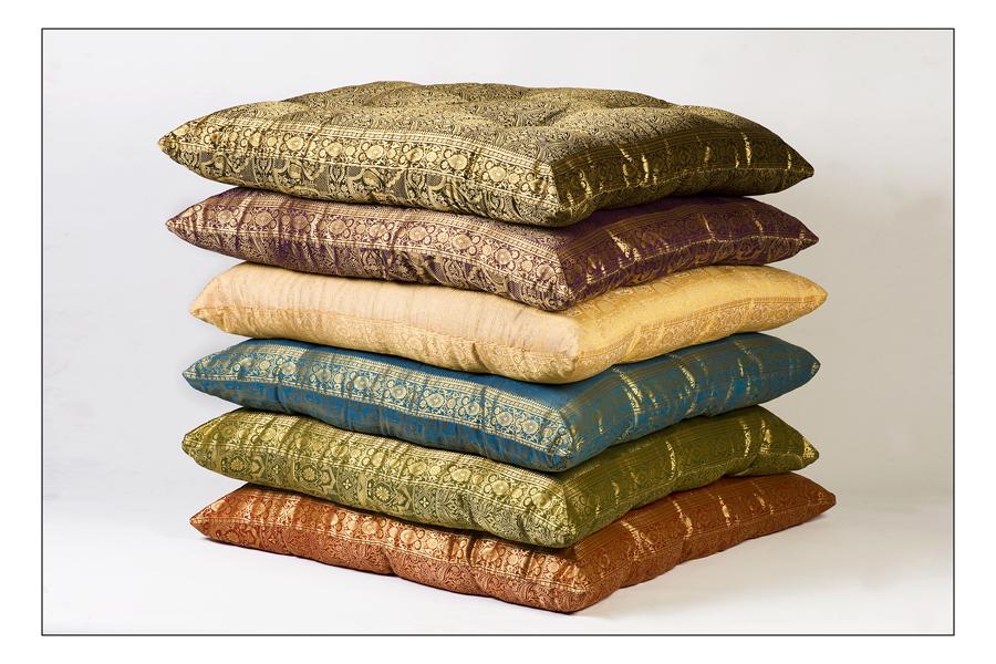 Monsoon Craft.com: Sari Floor Cushion Seating