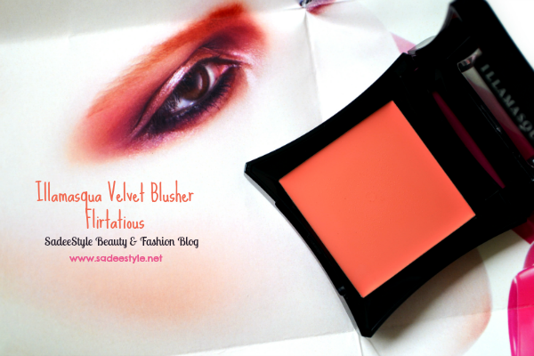 Illamasqua velvet blusher in Flirtatious Review