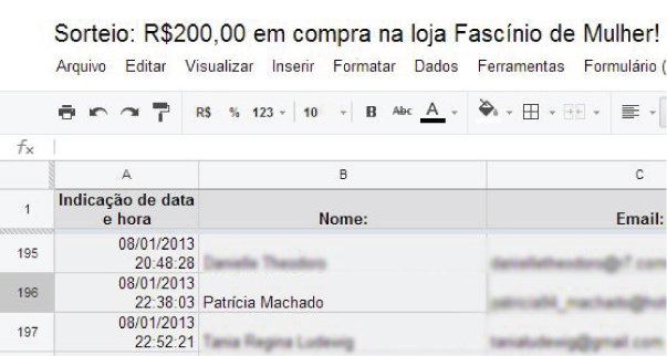 sorteio blog no preach