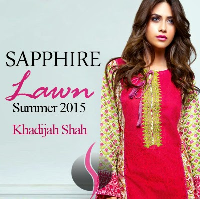 Sapphire Lawn 2015 by leading fashion designer