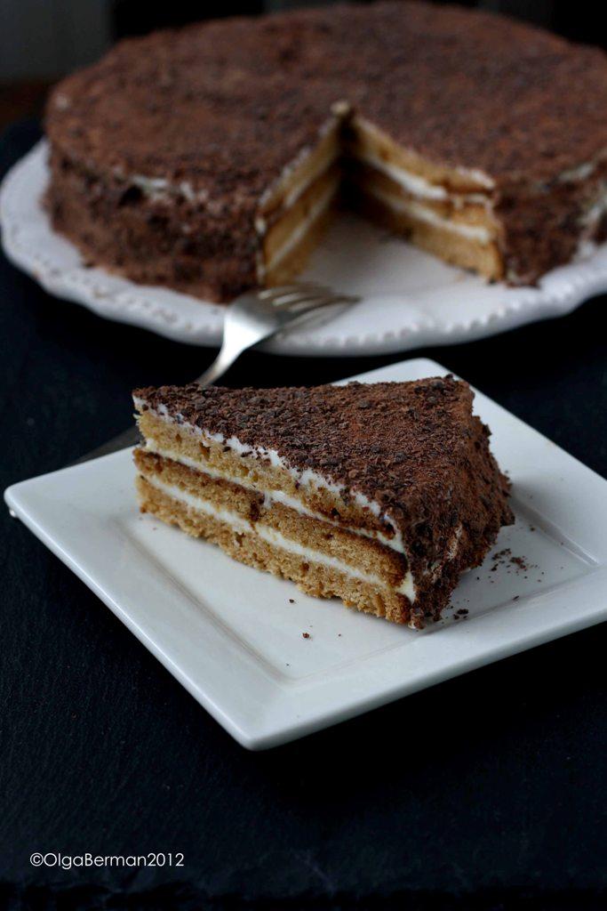 Smetannik Russian Sour Cream Cake Recipe