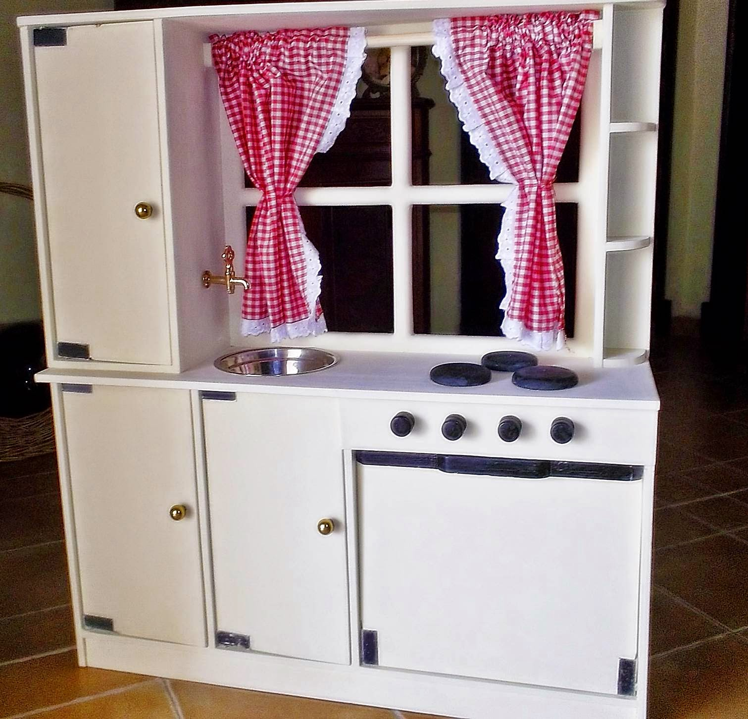 Madera artesana productos elaborados artesanalmente - Cocina infantil madera ...