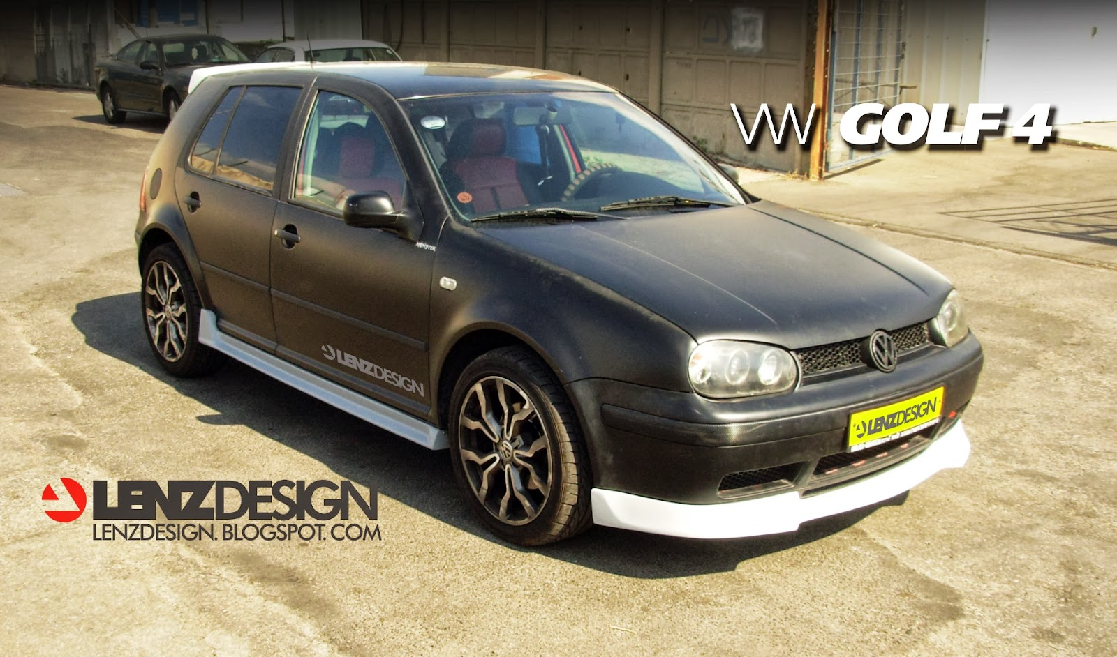 VW Golf 4 Tuning Lenzdesign. שיפורים חיצוניים לרכב - Auto Cars Benz