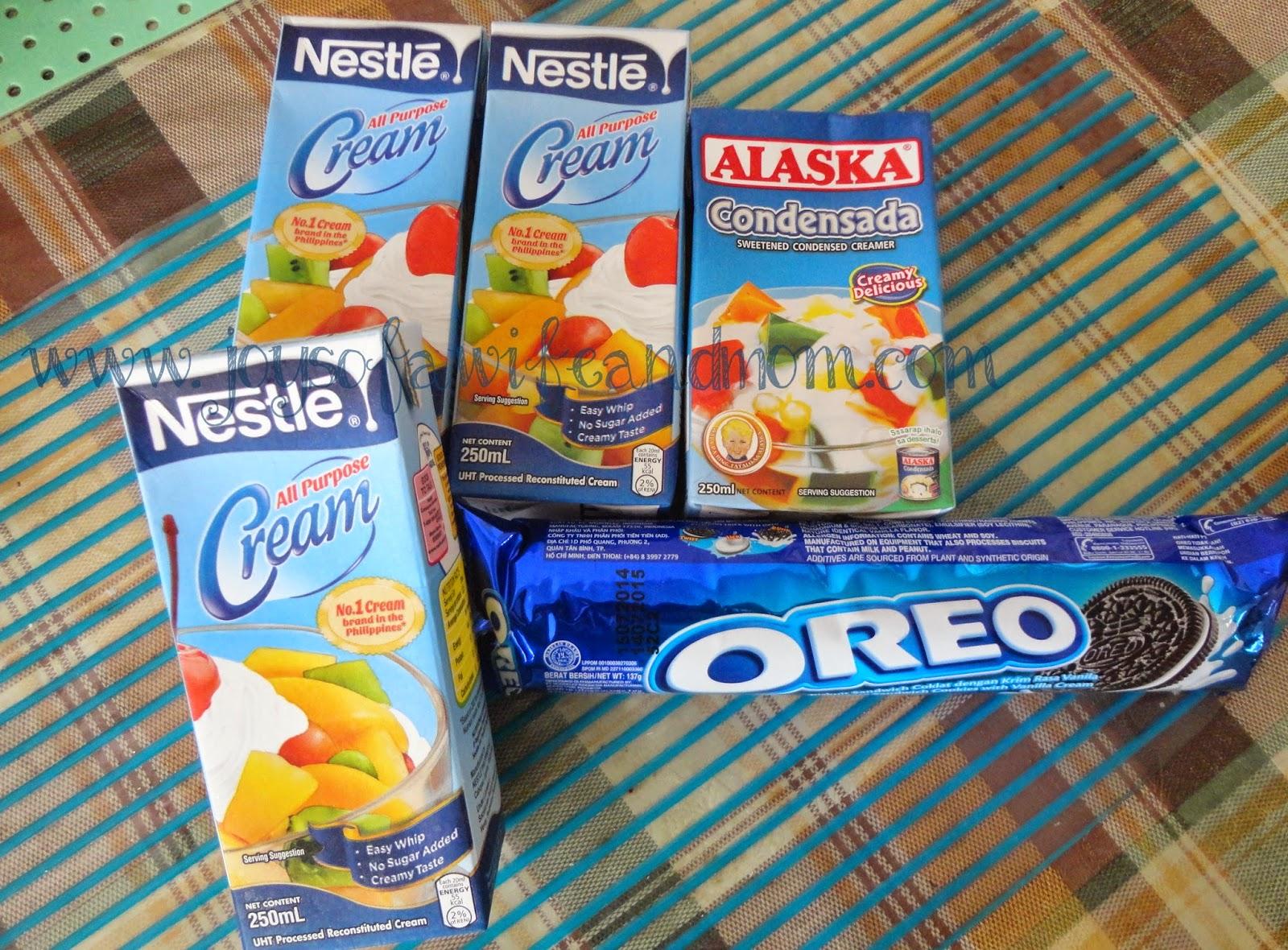 Home-made Ice Cream with Oreo Cookies