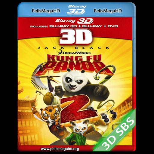 KUNG FU PANDA 2 (2011) FULL 3D SBS 1080P HD MKV ESPAÑOL LATINO