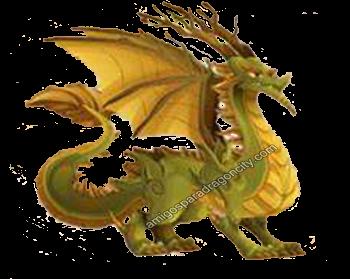 imagen del dragon gaia de dragon city
