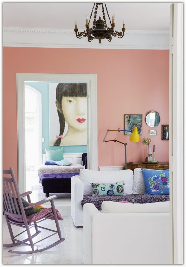 Art Symphony: Happy Living in a Colorful Danish House
