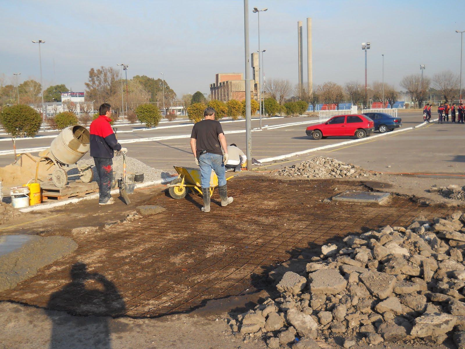 Soy san lorenzo siguen las mejoras en ciudad deportiva for Puerta 8 ciudad deportiva