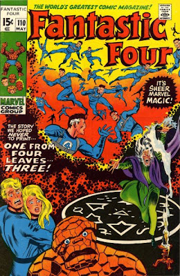 Fantastic Four #110, Agatha Harkness, Annihilus