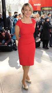 Louise Minchin at the Tric Awards