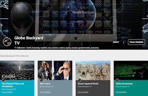 Globe Backyard @ Google+