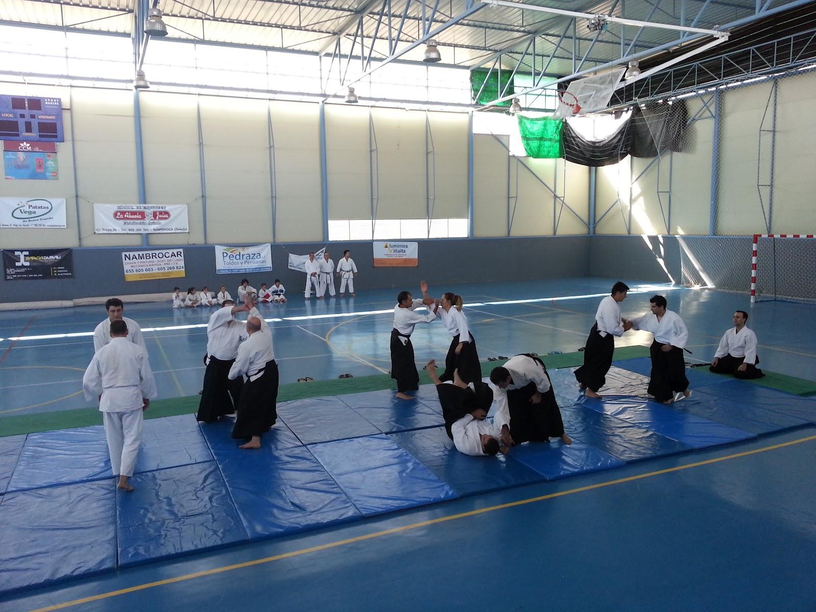 Aikido gimnasio atemi contin a con la difusi n del aikido for Gimnasio toledo