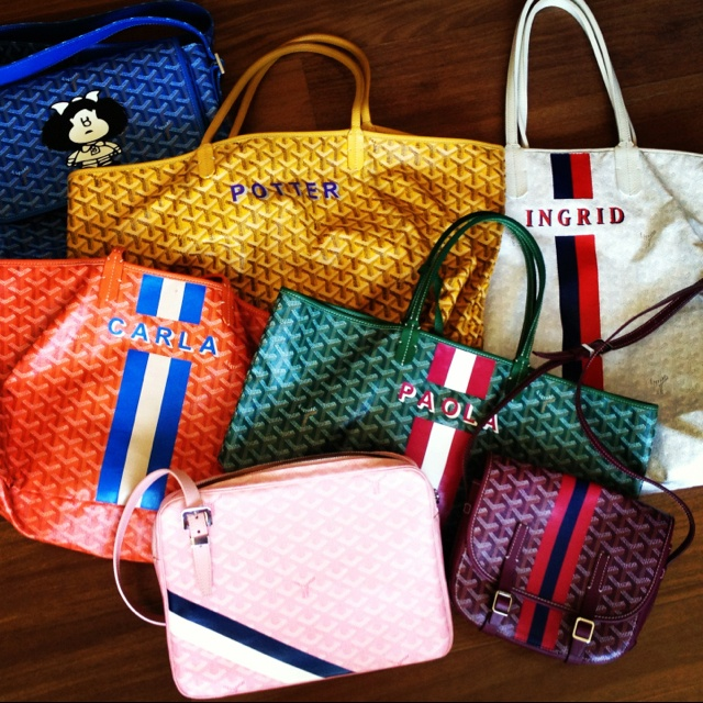 You Can Visit The Goyard In Paris Or San Francisco To For A Bag