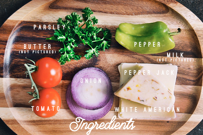 White Queso recipe ingredients