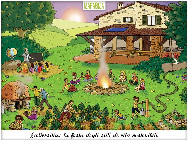 EcoVersilia: la festa degli stili di vita sostenibili - EcoVillaggi