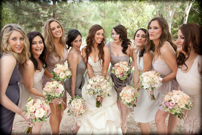 The Secrets Of Successful Mismatched Bridesmaids Part 2