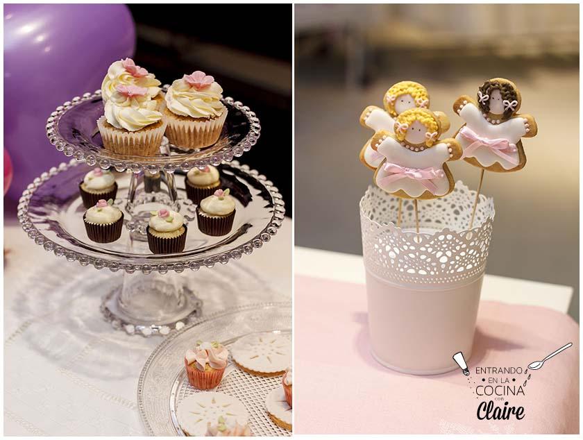 Claire 39 s bakery mesa dulce para rosa clar y talleres de - Mesas dulces para ninas ...