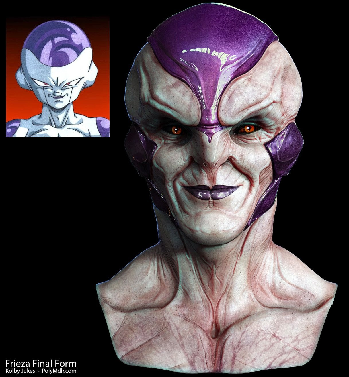 Dragon Ball Freeza 3D