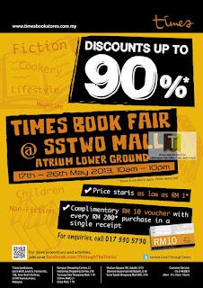 Times Books Fair Sale 2013