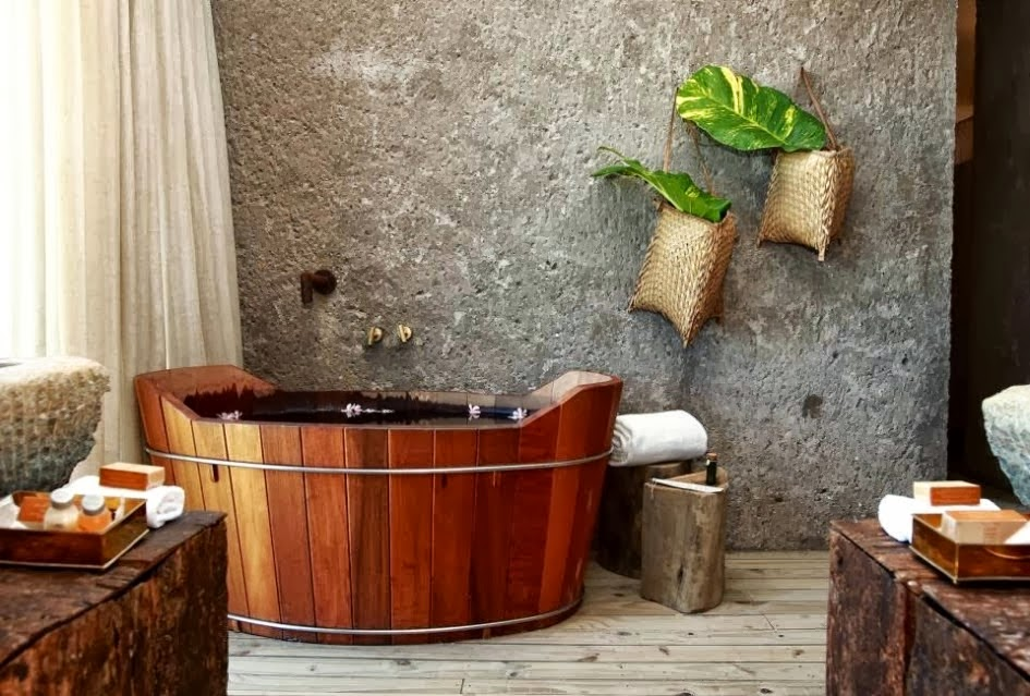 Kamar mandi minimalis batu alam 6