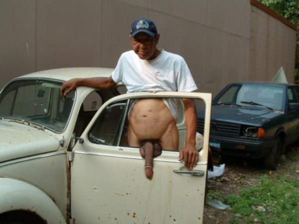 Old man giant porn photo