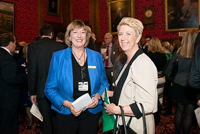 Heather McCann and Angela Smith MP at the Manifesto for Cats launch