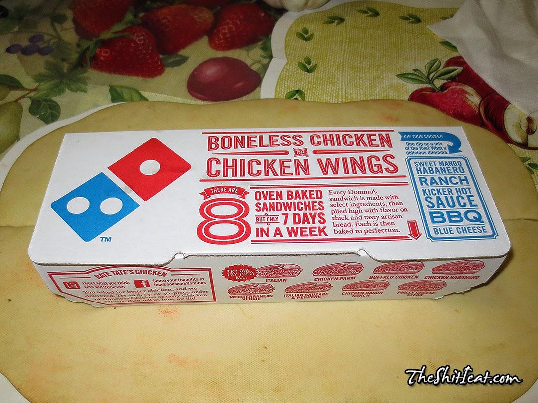 The Shit I Eat: Domino's Chicken Habanero Sandwich