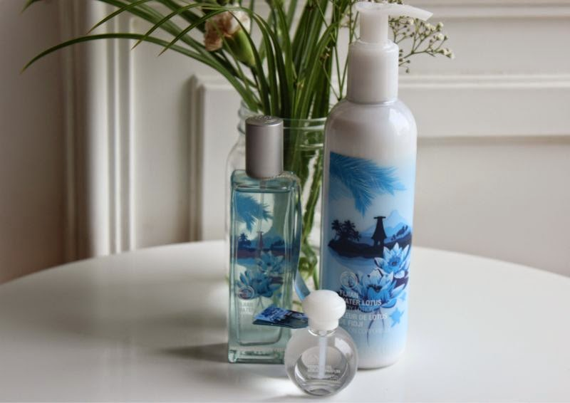 The Body Shop Fijian Water Lotus Flower Collection