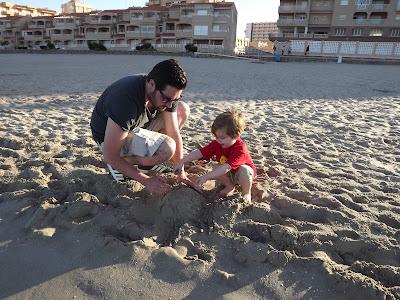 La Manga Beach Sandcastles