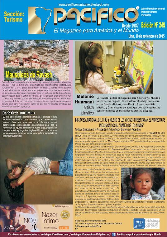 Revista Pacífico Nº 249 Turismo