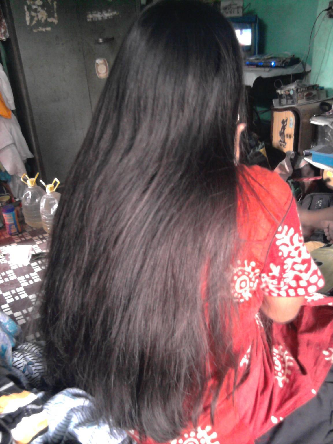 how to grow long hair in tamil