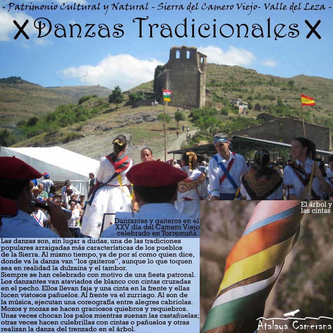 Sierra del Camero Viejo - Valle del Leza. Patrimonio Cultural y Natural. Danzas Tradicionales.
