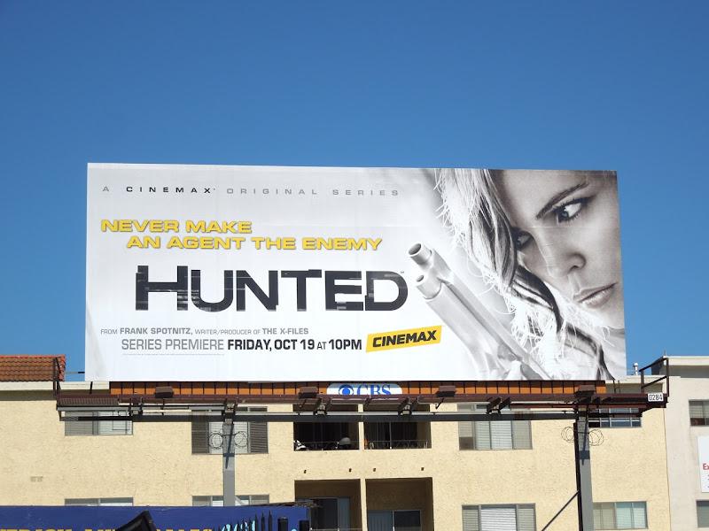 Hunted Cinemax billboard